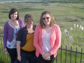 2011 custer battlefield museum interns